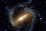 Barred Spiral Galaxy NGC 1073 Cetus Constellation Hubble Space Photo Poster Prints