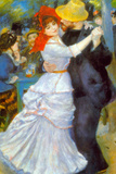 Pierre-Auguste Renoir Dance at Bougival Poster Posters by Pierre-Auguste Renoir