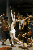 William-Adolphe Bouguereau The Flagellation of Our Lord Jesus Christ Poster Posters by William Adolphe Bouguereau