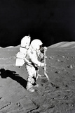 Moon Landing Astronaut Poster Posters