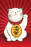 Maneki Neko (Lucky Cat) Prints by Maneki Neko