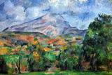 Paul Cezanne Mount St Victoire Poster Prints by Paul Cézanne