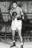 Sugar Ray Robinson in Boxing Ring Sports Poster Photo
