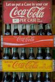 Vintage Coca Cola Bottle Cases Coke Photo Poster Prints