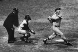 Ted Williams Long Ball Boston Red Sox Sports Poster Photo