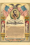 Abraham Lincoln Emancipation Proclamation Historical Document Prints