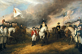 The Surrender of Lord Cornwallis Historical Poster Posters