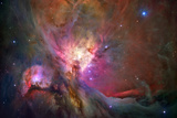 Hubble's Sharpest View of the Orion Nebula Space Poster Posters