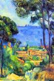 Paul Cezanne Landscape Poster Print by Paul Cézanne