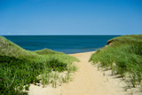 Nantucket Beach Dunes Photo Poster Photo