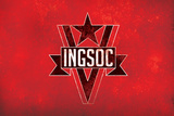 1984 INGSOC Big Brother Political Flag Poster Poster