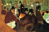 Henri de Toulouse-Lautrec In the Moulin Rouge Poster Posters by Henri de Toulouse-Lautrec