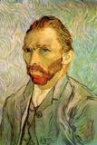 Vincent van Gogh Self Portrait 1 Poster Posters by Vincent van Gogh