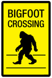 Bigfoot Crossing Prints