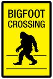 Bigfoot Crossing Prints