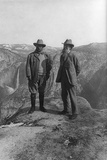 Theodore Roosevelt with John Muir Poster Poster