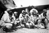 Tuskegee Airmen 332nd Fighter Group Archival Photo Poster Photo