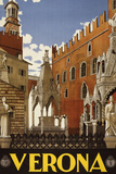 Verona Italy Tourism Travel Vintage Ad Posters