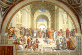 The School of Athens Scuola di Atene by Raphael Poster Posters