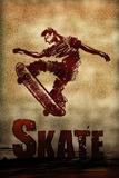 Skateboarding Skate Sketch Sports Art