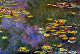 Claude Monet Water Lily Pond Giverny Poster Photo by Claude Monet