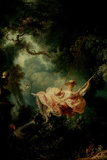 Jean-Honore Fragonard (The Swing) Poster Posters by Jean-Honore Fragonard