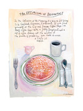 The New Yorker - July 22, 2013 Giclee Print by Maira Kalman