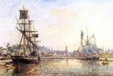 Claude Monet - The Honfleur Port 2 - Poster Prints by Claude Monet