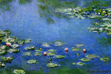 Claude Monet Water Lilies Nympheas Poster Posters by Claude Monet