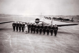 Tuskegee Airmen at Attention Archival Photo Poster Photo