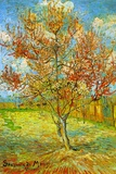 Vincent van Gogh Pink Peach Tree in Blossom Reminiscence of Mauve Poster Prints by Vincent van Gogh
