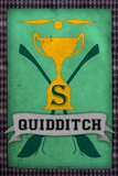 Quidditch Champions House Trophy Green Movie Poster Prints