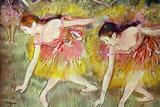 Edgar Degas Ballet Dancers Poster Posters by Edgar Degas