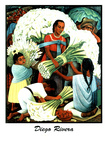 Diego Rivera (Vendedores de Flores) Prints by Diego Rivera