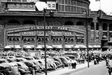 Comiskey Park Chicago Front Gates Archival Photo Sports Poster Posters