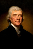 Thomas Jefferson Portrait Historic Photo
