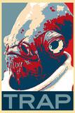 It's A Trap Web Meme Humor Poster Print