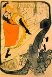 Henri de Toulouse-Lautrec Jane Avril Posters