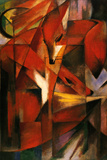Franz Marc (Red Foxes) Poster Prints by Franz Marc