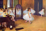 Edgar Degas The Dance Hall Posters by Edgar Degas