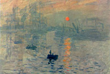 Claude Monet (Impression, Sunrise) Poster Photo by Claude Monet