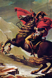 Jacques-Louis David (Napoleon Crossing the Alps) Poster Print by Jacques-Louis David