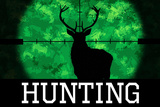 Hunting Green Buck Poster Posters