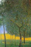 Gustav Klimt Fruit Trees Poster Posters by Gustav Klimt