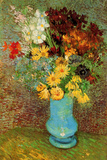 Vincent van Gogh Vase with Daisies and Anemones Prints by Vincent van Gogh