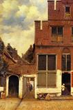 Johannes Vermeer The Little Street Posters by Jan Vermeer