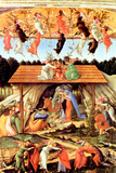 Sandro Botticelli Nativity 1500 Poster Prints by Sandro Botticelli
