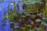 Claude Monet Water-Lilies Art by Claude Monet