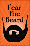San Francisco Giants Fear The Beard Sports Poster Posters