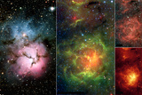 New Views of a Familiar Beauty Nebula Space Poster Photo